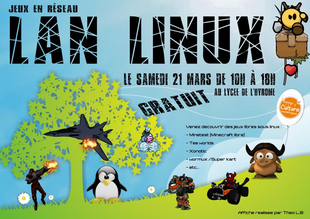 LAN LINUX